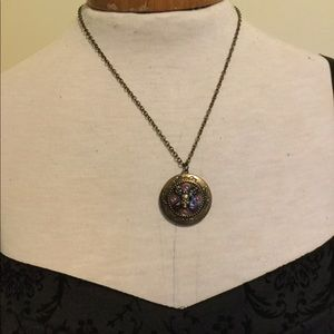 Pirates of the Caribbean Locket Necklace